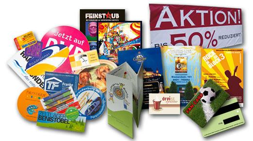 47printcom Print Plastikkarten Flyer Aufkleber