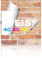 Aufkleber Weiss Drucken Sonderfarben Im Digitaldruck